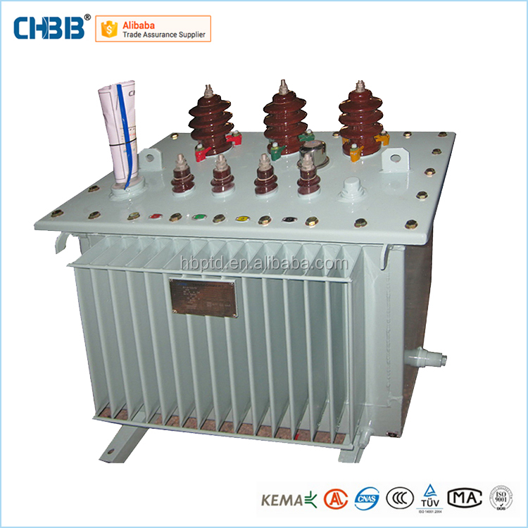 Three Phase Oil Immersed Type Electrical Equipment 63KVA Transformer