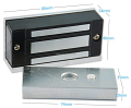 60kg 100lbs mini electromagnetic lock for cabinets