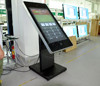 mobile phone advertising player touch kiosk 3G android wifi PC floor stand