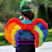 carnival cheap wholesale large white feather angel wings cosplay big angel wing