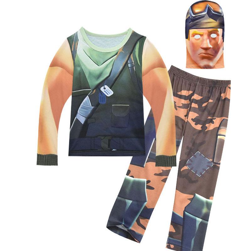 Boys Clothing Set Fortnite Halloween Costumes Kids Game Fortnite