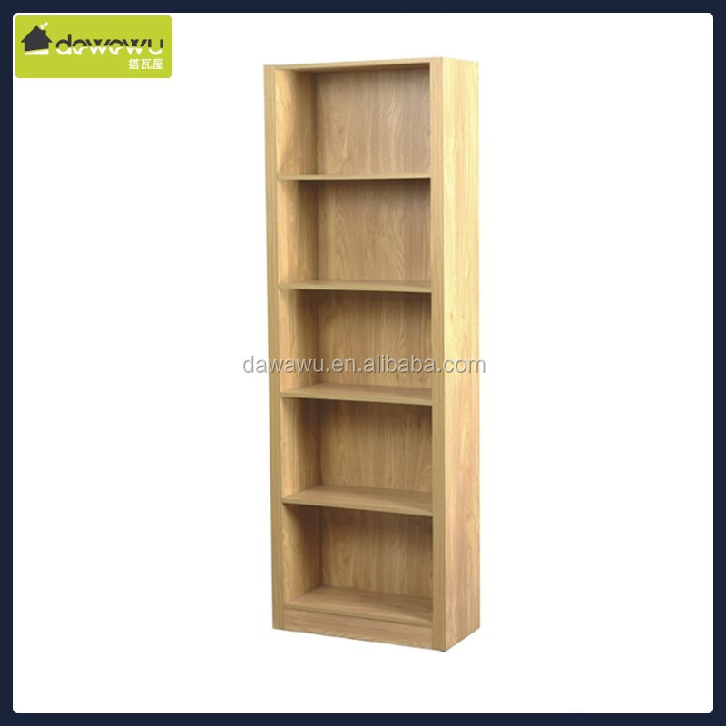 living room furniture 5 layer panel ladder shelf bookcase