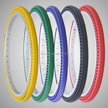 Colorful 700 23C FREE-INFLATION Tire For Fixed Gear Road Bike Small MOQ Tire Tube / Solid Rubber Bicycle Tire Tubeless