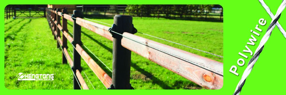 Pasture fence-Electric fence polywire bee hive