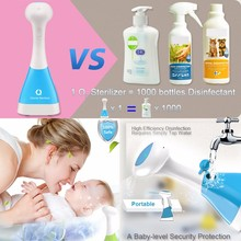 Hand/food/fruit washer disinfector ozone sterilizer green initiative disinfectant liquid instant spray