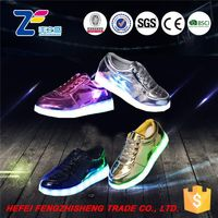 HFR-ZS-5 2016 latest popular design casual child led shoes