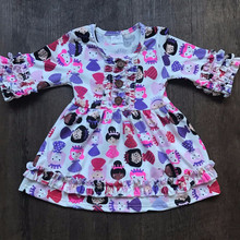 Cotton Fancy Girls Dresses Wholesale Kids Clothes Girls Dresses Fancy Girls Frock Designs