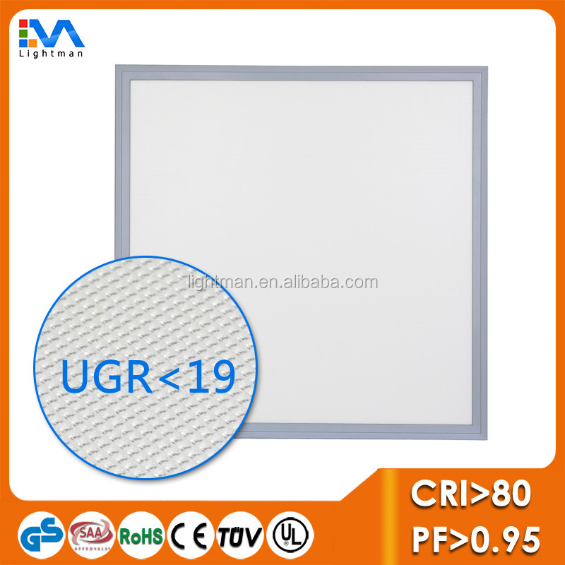 Hot Sale Sunup Commercial UGR<19 LED Panel Lighting 595x595 36W