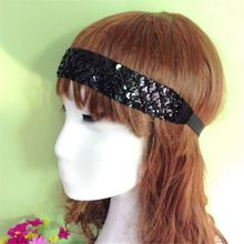 Newest design Free sample China Manufacturer chiffon flower hair accessorie for cashristm new