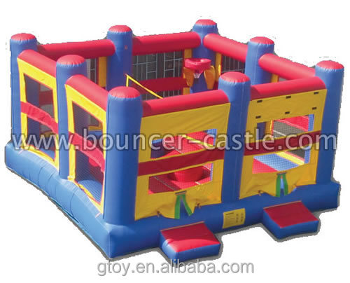 5 in 1 Sports Combo inflatable Games for sale in China commercial grade for party rentals