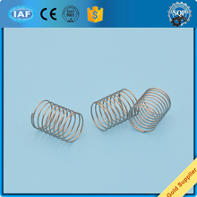 ROHS compliant blue galvanized plated spring steel compression spring