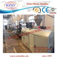 400/600mm pvc edge banding making machine with hot stamping online