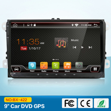 "VW Parts 9"" Full Touch Screen 2 Din Android GPS Autoradio for VW Sharan Passat CC with 3G Wifi Bluetooth SWC Mirror Link CANBUS"