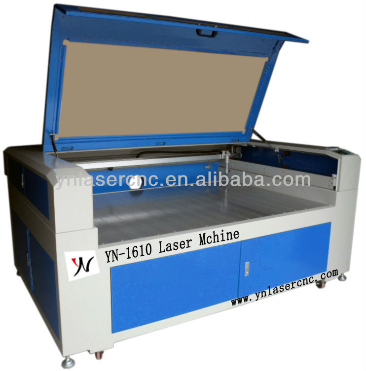 YN1610 granite laser engraver/marble laser engraving machine with high precision