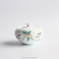 Tea house or store selling China culture style Hand Painted Underglazed Porcelain tea canister