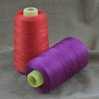 Ruichunlai unique customized 100% dacron yarn/402 polyester thread for industrial machine