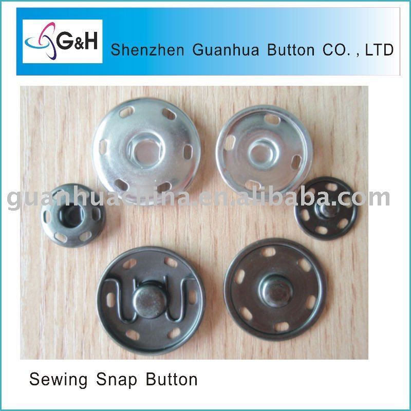 sewing snap button