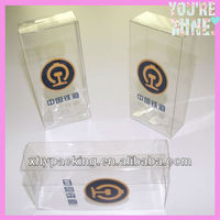 Eco-friendly new design high quality PVC/PET material transparent plastic case
