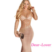 2016 Latest Design Sex Long Prom Evening Party Wear Gown For Lady