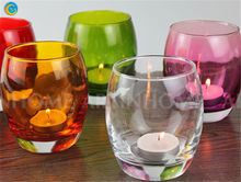 bars decoration colored bars cup candlestick bars wine cup candle holder
