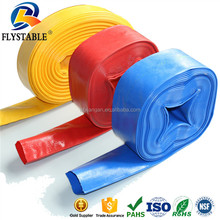 Anti UV wear resisting PVC layflat irrigation hose