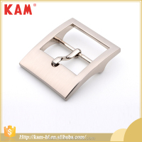 Factory direct sale silver color rectangle belt buckle blanks wholesale