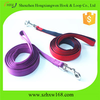 dog leads nylon with cotton fill strong lesah