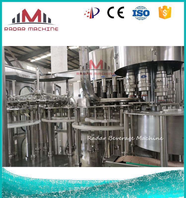 Automatic Small Scale Mineral Drinking Water Bottling Liquid Filling Sealing Machine plant equipment