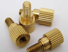 CNC machining nonstandard male and female precision brass screw