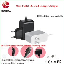 5v 2a/2000mah android pc tablet pc wall/travel charger with CE/FCC/RoHs standard