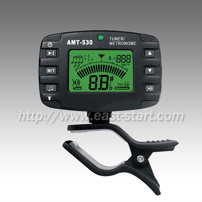 Guitar Chromatic Clip On Chromatic Metronome / Tuner