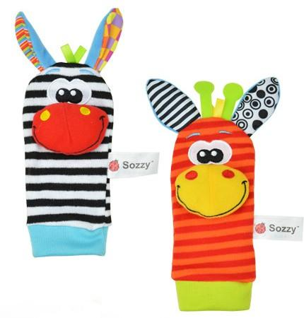 Sozzy <strong>plush</strong> toy, nursery toy, sozzy foot finder