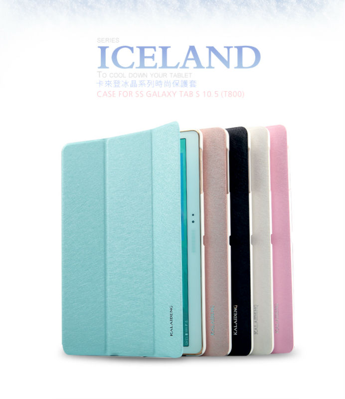 KLD Flip leather case for Samsung Galaxy TAB S 10.5 T800