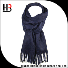 Wholesale mens big 100% cashmere scarf bouncy scarf