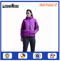 Wholesale brand name outdoor clothing waterproof outdoor jacket for women