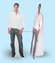 Men Cardboard Cut Out Standee