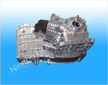 Gasoline engine housing assembly