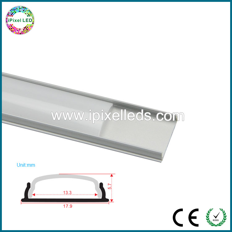 13mm Wide LED Strip Profile Extrusion Aluminium Profile LED Channel