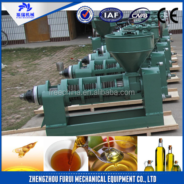 High performance sunflower seeds screw oil press/soybean oil extraction plant/industrial oil press