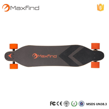 Worldwide Distributors Wanted Maxfind Manufacturer electric skateboard long board style with dual motors and remote controller