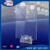 New Red Bull Acrylic Card board display stand for promotion