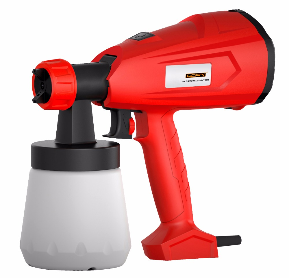 350W Handheld HVLP Electric HVLP Paint Spray Gun