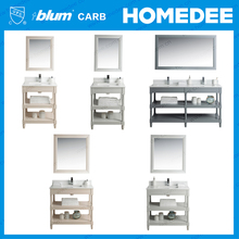 homedee cheap hotel bathroom vanity cabinet furniture with tops