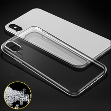 Soft Transparent Protective Shell TPU Skin Case Cover For Iphone X