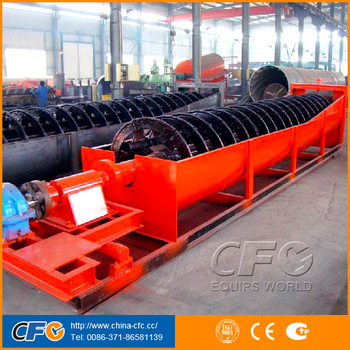 High Efficiency Screw Classifier/Spiral Classifier For Gold Ore Mining Plant