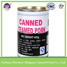 China wholesale market agents round canned pork luncheon meat