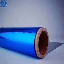 colorful pvc pet aluminum metalized film 12 micron pet film opp plastic film
