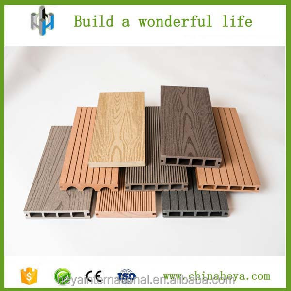 Balcony Flooring Wood Plastic Decking/WPC Materials