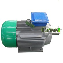 Hot ! 1kW 150 rpm low rpm high quality wind turbine generator , cheap price permanent magnet alternator
