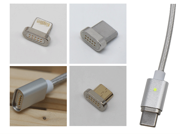 2017 new arrival fast magnetic adapter usb cable from shenzhen